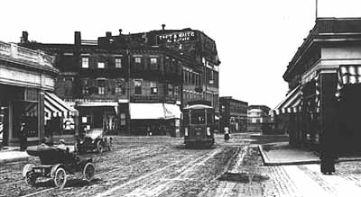 Harvard Ave Near Allston Depot 1910